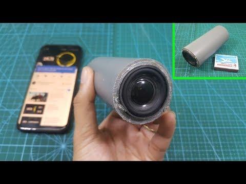 DIY Mini Portable Speakers Bluetooth Using PVC Pipe
