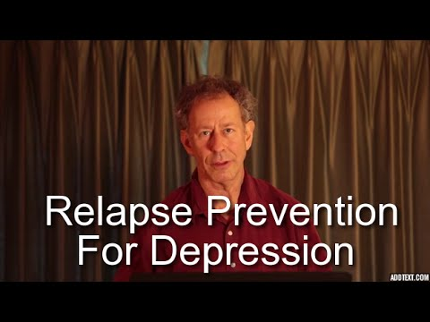 Relapse Prevention for Anxiety and Depression