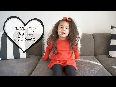 Toddler Tag! Featuring L.O.L Little Sisters ♡