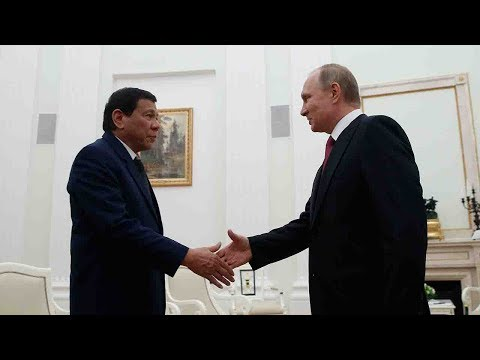 Duterte asks Putin for 'soft loan' for arms