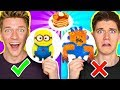 PANCAKE ART CHALLENGE!!! Learn How To Make Minions Spiderman & Fidget Spinner out of DIY Pancake!