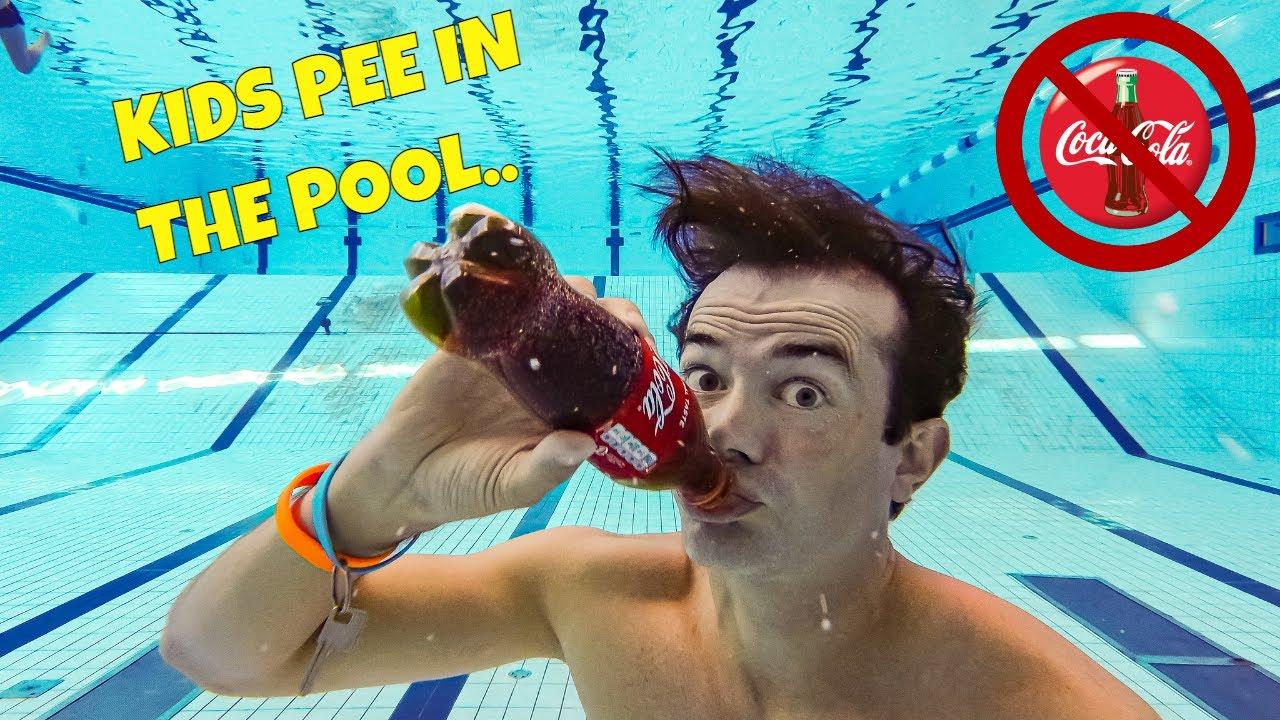 How To Drink Coca-Cola Underwater