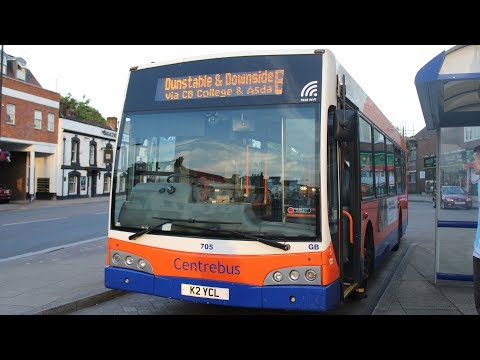FULL ROUTE!   Centrebus   East Lancs Esteem/Scania N230UB   B to Downside   K2YCL (705)