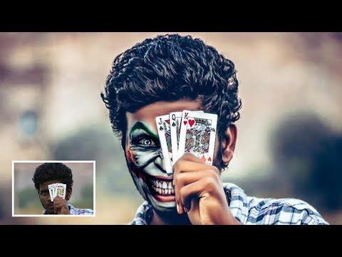 Joker Face Effect | Photoshop Tutorial