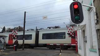 Passage a Niveau Wavre/ Spoorwegovergang Waver/Railroad-/ Level Crossing/ Bahnübergang