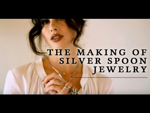 The Making of Silver Spoon Jewelry