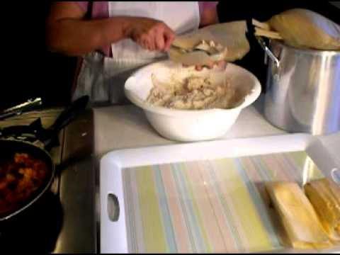 How to make authentic Mexican Tamales Part 2