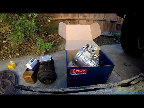1995-2002 Toyota 4Runner AC Compressor review
