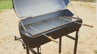 Comment fabriquer un barbecue avec un chauffe eau / Découper un chauffe eau