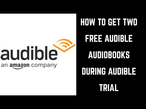 How to Get Two Free Audiobooks During Audible Trial with Amazon Prime