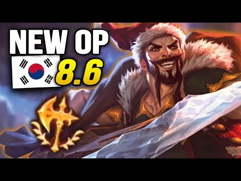 8 New OP Builds and Champs in Korea Patch 8.6 SO FAR (League of Legends)