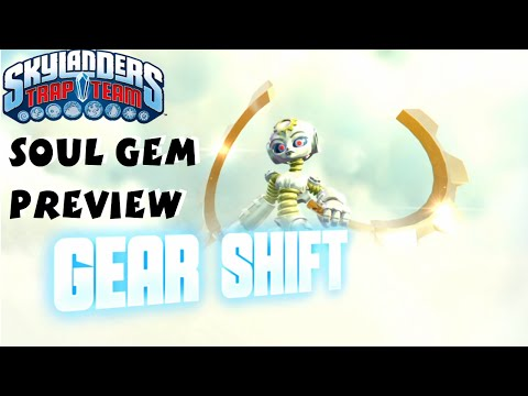 Gear Shift Soul Gem Preview and Location - Skylanders Trap Team 1080P