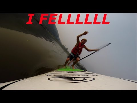Whistler Paddle boarding!! - TheAdestroyer