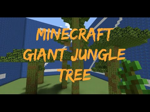 How to Grow a Giant Jungle Tree in Minecraft