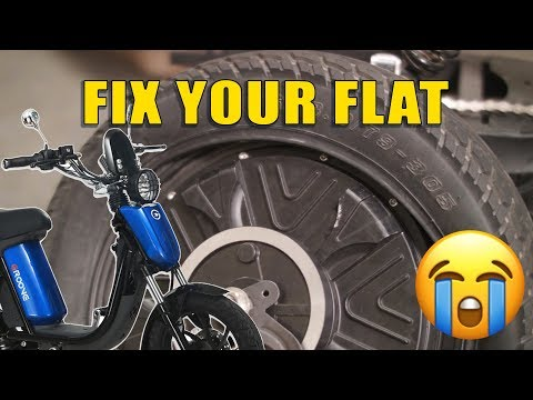 How To Replace The Tire and Tube on a Gigabyke Groove Electric Bike