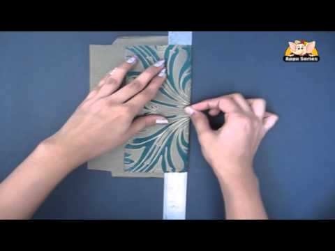 How to Make an Envelope - Arts & Crafts in Hindi