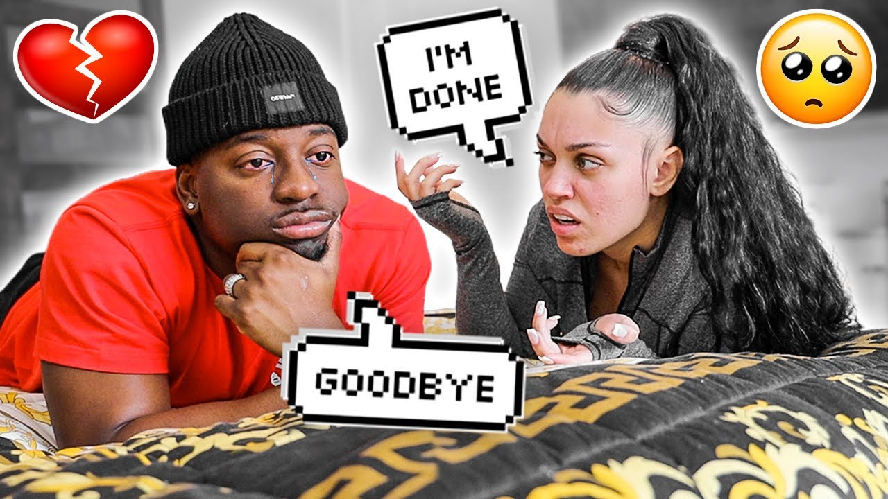 I'M NOT IN LOVE WITH YOU ANYMORE PRANK ON DAMIEN **BAD IDEA**