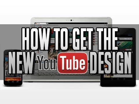 How to get the New YouTube Channel Design Layout 2013 (One Channel)
