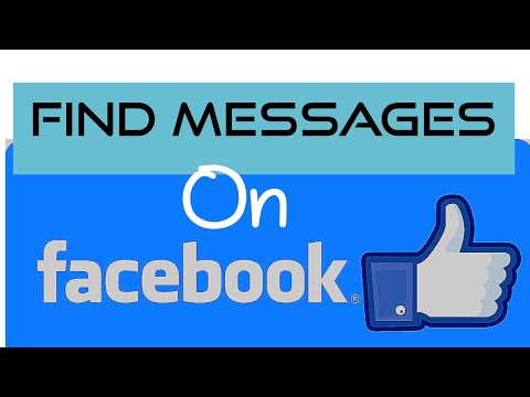 Find old Messages in Facebook.. No Scrolling!