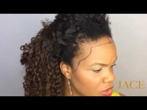 JACE: Education Series: Perfect Fit Frontals: Can I Wear a Frontal?- Small/Large Foreheads