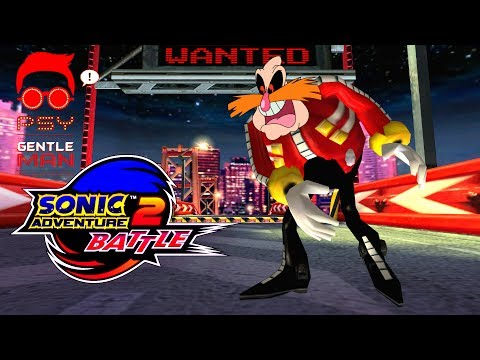 Sonic Adventure 2: Battle - Mission Street - MECHLESS EGGMAN [REAL Full HD, Widescreen]
