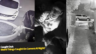 Top 10 STRANGEST Things Caught On CCTV At Night!