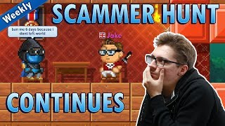 Hunting & Banning Scammers Continues! - Pixel Worlds