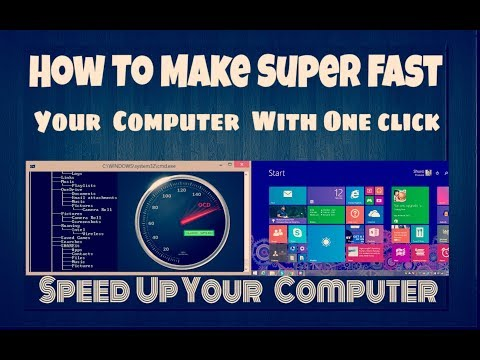 How to make your PC/Laptop Run Faster || how to speed up your pc With ONE Click