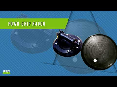 Powr-Grip N4000 Suction Cups from GGR Glass