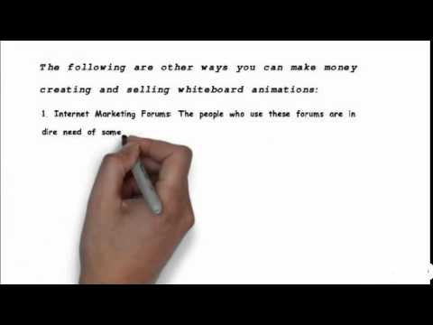How To Make Money Online Fast|Quick With Whiteboard Videos!