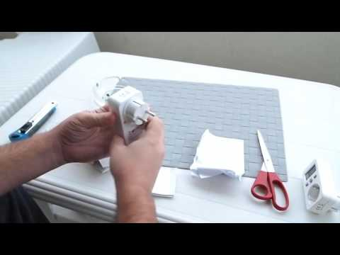 Watt Electricity Usage Monitor Socket  from  Gearbest
