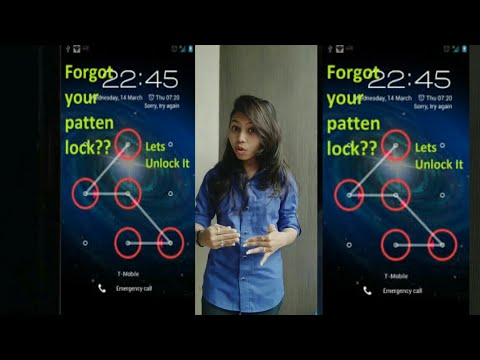 How to remove screen pattern in mobile phone in just 2 minutes