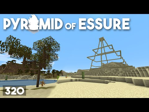 Minecraft Building w/ BdoubleO :: Pyramid of Essure :: ep 320