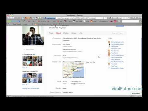 Google + (Plus) SEO - Free DoFollow PR 8 Anchor Text Backlink