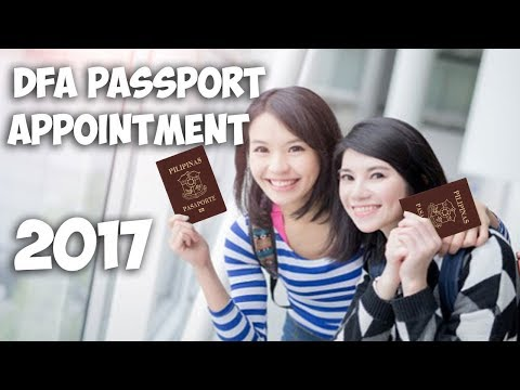 DFA Passport Appointment Online 2017