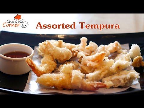 Assorted Tempura | Ventuno ChefsCorner
