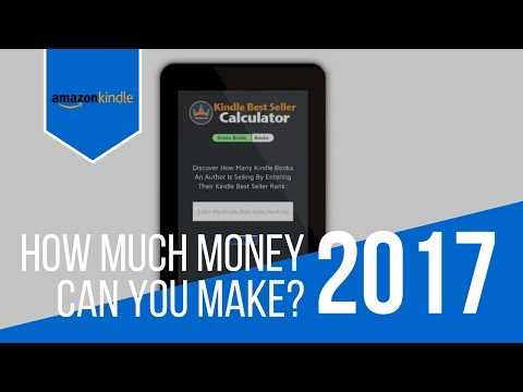 KINDLE CALCULATOR - Discover How Much Money You Can You Make From Kindle Books?