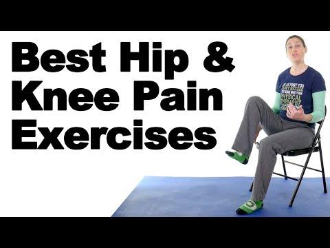 10 Best Hip & Knee Pain Strengthening Exercises - Ask Doctor Jo