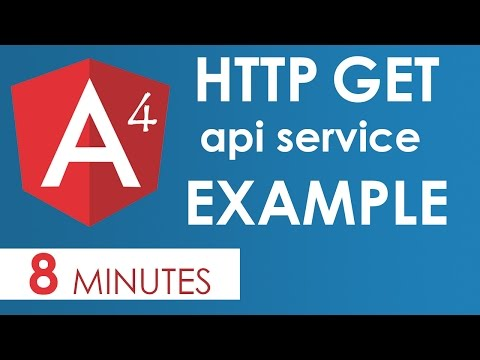 Angular 4  HTTP Get Example with Params