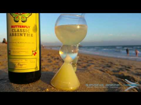 How to Drink Absinthe on the Beach - Boston Butterfly with Slipstream® Glass