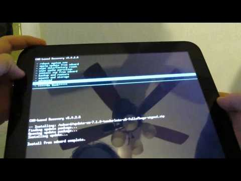 CyanogenMod 7.1 Alpha 3 Android on the HP TouchPad