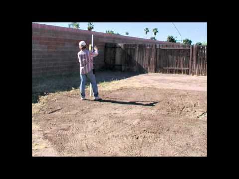 Above Ground Pool Installation Part 1