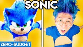 SONIC WITH ZERO BUDGET! (Sonic the Hedgehog Movie PARODY)