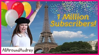 1 Million Subscribers Celebration and HUGE Announcement! / AllAroundAudrey