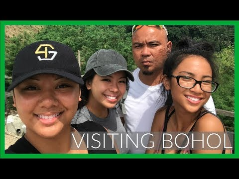 VISITING BOHOL, PHILIPPINES! ZIPLINING, CHOCOLATE HILLS, TARSIERS | LifeWithGer Travel Vlogs (#140)