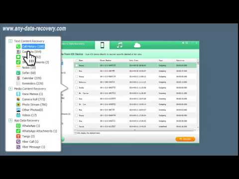 [iPhone 6 Data Recovery] Recover Lost Contacts, Messages, Photos, Notes, Viber etc.