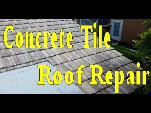 Roof Repair - Tile Roofing Leak Repair - Start to Finish