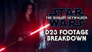Star Wars: The Rise of Skywalker D23 Footage Breakdown