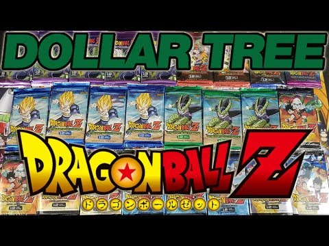 Dragon Ball Z TCG Packs At Dollar Tree???