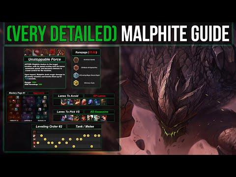 (VERY Detailed) Malphite Guide